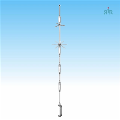 Hustler HF antenna for 10, 15, 20, 40, 75/80 meter amateur bands  1500W PEP